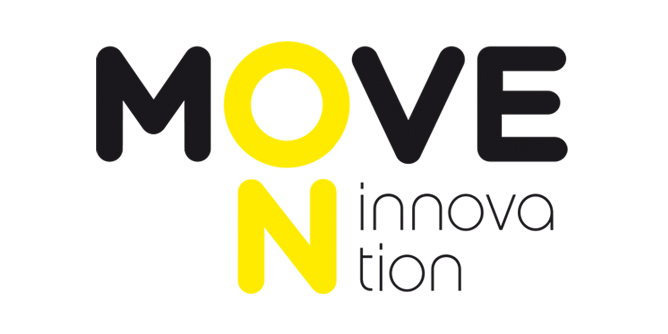 LOGOTIPO MOVE ON INNOVATION DISEÑADO POR AERREDESIGN